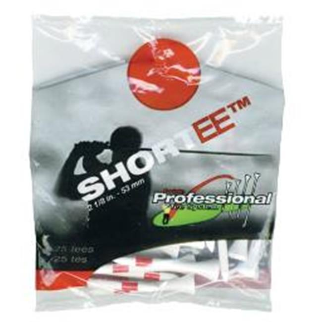 PTS Shortee 2 1/8'' 25/Pack in White - image 1 de 1