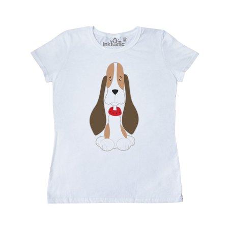 Basset Hound with floppy ears Women's T-Shirt - Basset Hound Costumes Halloween