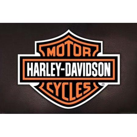 harley davidson - logo poster print (36 x 24) - walmart