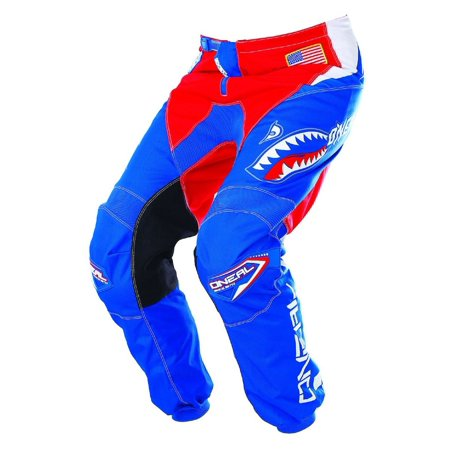ONeal Element Afterburner Mens Blue/Red Motocross -