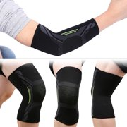 Kritne Elbow Guard,Elbow Wrap,1pc Black Unisex Sports Elbow Support Protector Brace Guard Protective Arm Sleeve