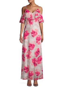 f76bdc2c2ba8 Product Image Floral Cold Shoulder Maxi Dress. Product TitleCalvin KleinFloral  ...