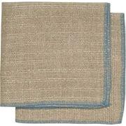 Set of 2 Blue Linen Dishcloths 7001 184