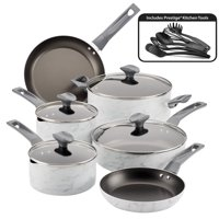Farberware Easy Clean Pro Marble 14 Piece Cookware Set