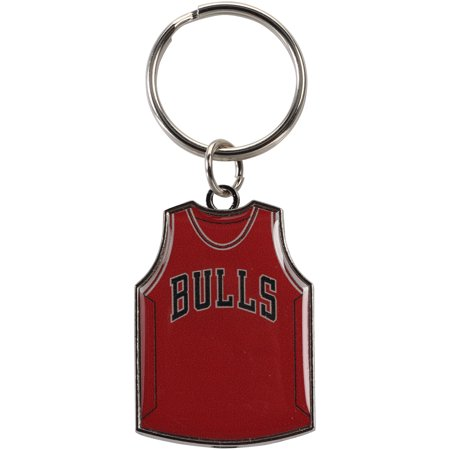 Chicago Bulls Reversible Home/Away Jersey Keychain - No Size - Chicago Keychain