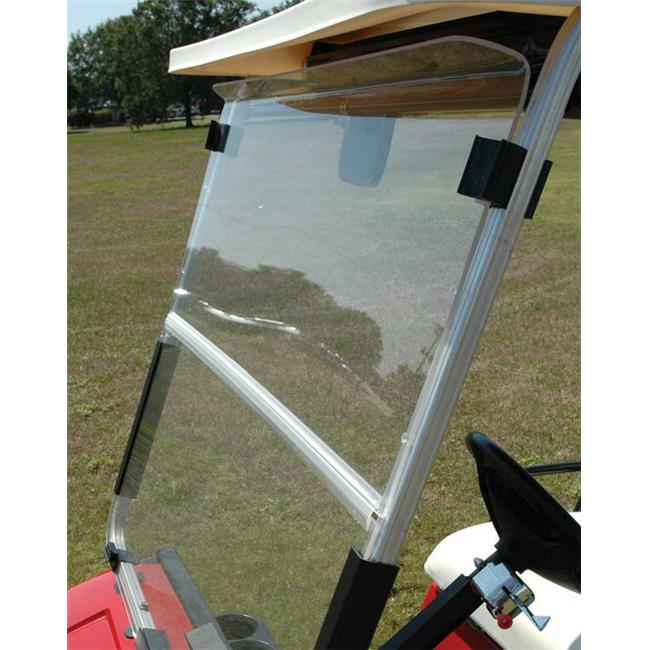 Windshield EZGO Hinged Folding Clear Impact for St350 - image 1 of 1