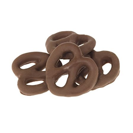 Gourmet Chocolate Covered Pretzels By Its Delish  Dark Chocolate  1 Lb