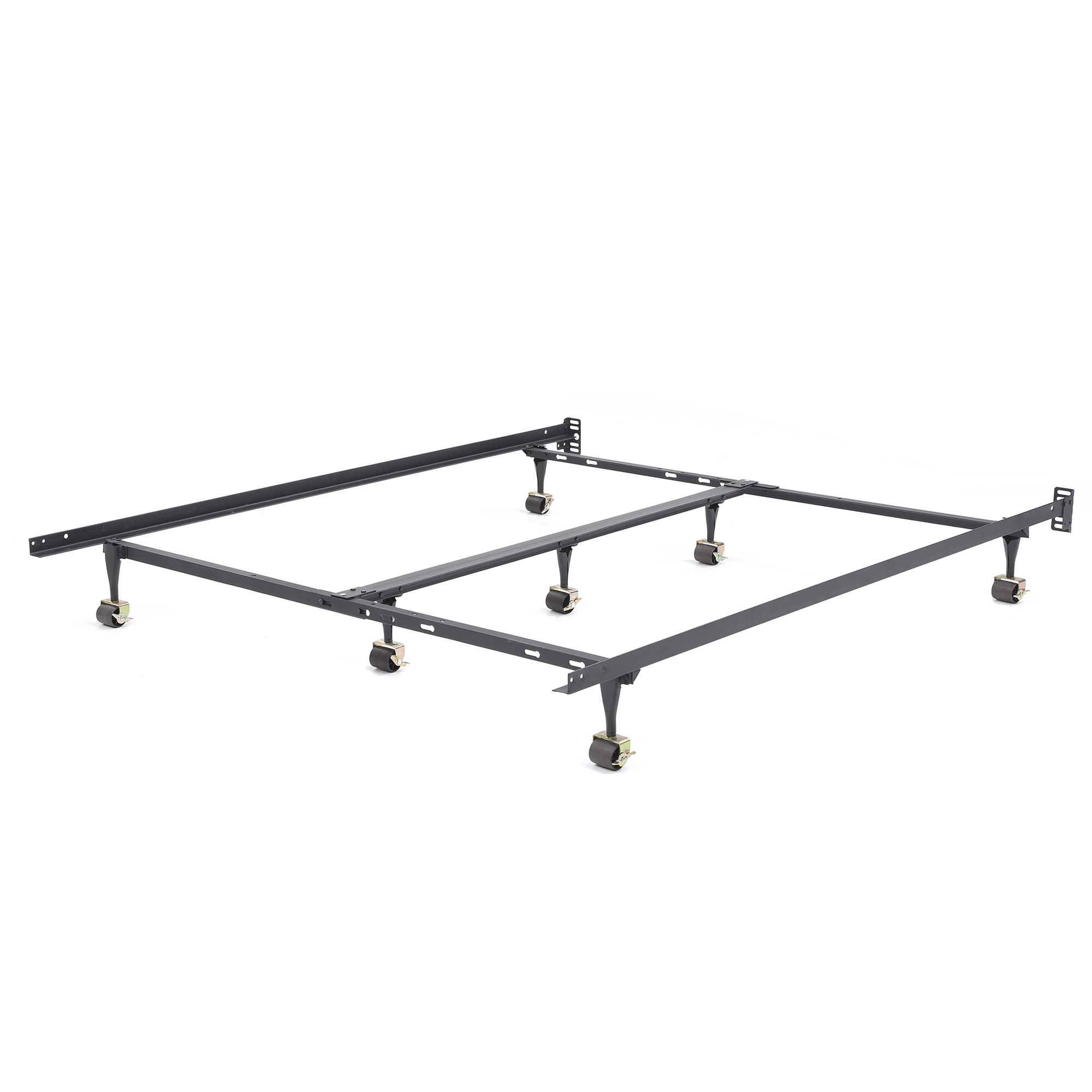 Modern Sleep Hercules Universal Heavy-Duty Metal Bed Frame | Adjustable Width Fits Multiple Sizes