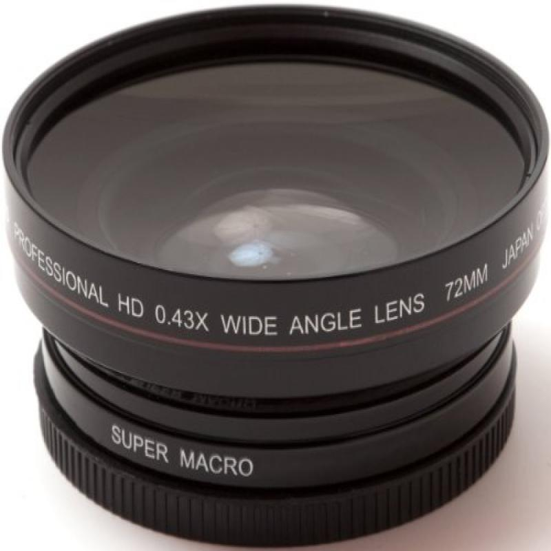 AGFA 72mm 0.43X Super Macro Wide Angle Lens APWAG72 by Agfa