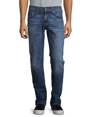 Ricky W Flap Straight Fit Jeans