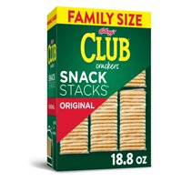 Keebler, Club Crackers, Original, Grab 'N' Go, Family Size, 18.8 Oz