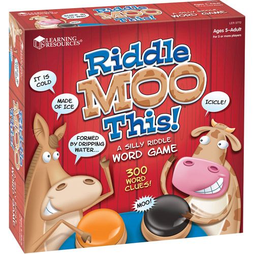 Learning Resources Riddle Moo This