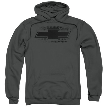 Spiderman Hoodie Mens (Chevrolet/Bowtie Burnout Mens Pullover)