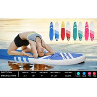 Stand Up Paddle Board, 10' Inflatable Stand Up Paddle Board for Youth/Adult, Includes Paddle Boarding, Pulp, Pump, Repair Kit, Paddle Boat SUP Accessories, Non-Slip Deck, Blue, W2868