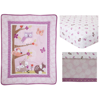 Lambs & Ivy Bedtime Originals Lavender Woods 3 Piece Crib Bedding Set