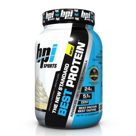 BPI Sports Best Protein Protein Vanilla Swirl, 28 Servings