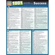 BarCharts 9781423218647 1001 Words For Success Quickstudy Easel