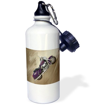 (3dRose Water Bottle Picturing Harley-Davidson® Motorcycle)
