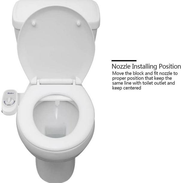 "7//8/"" Adjustable Clean/&Clear Rear End Bidet Butt Wash Washer Fresh Water Spray"