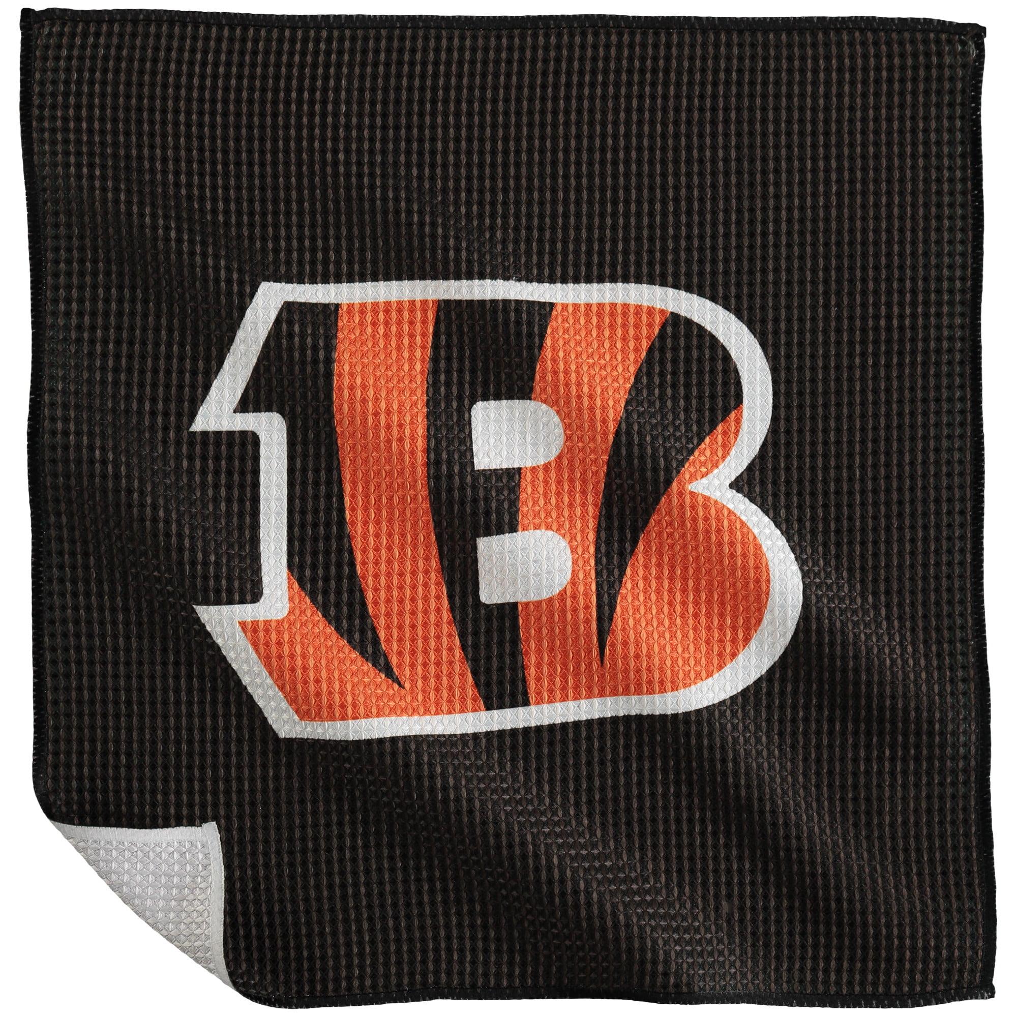 """Cincinnati Bengals 16"""" x 16"""" Microfiber Towel - No Size"""