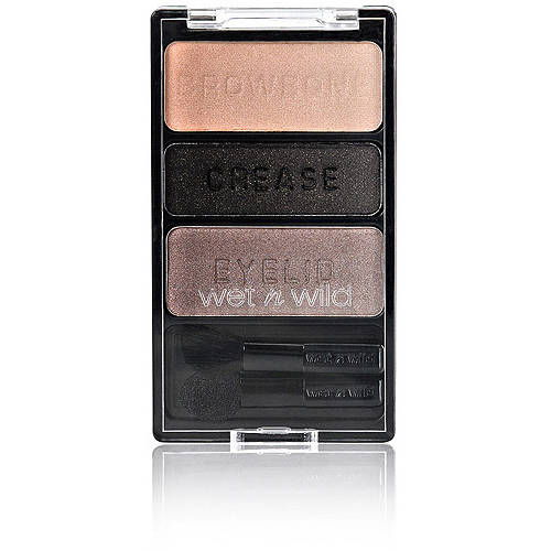 Wet n Wild Color Icon Eye Shadow Trio, Silent Treatment, 0.12 oz