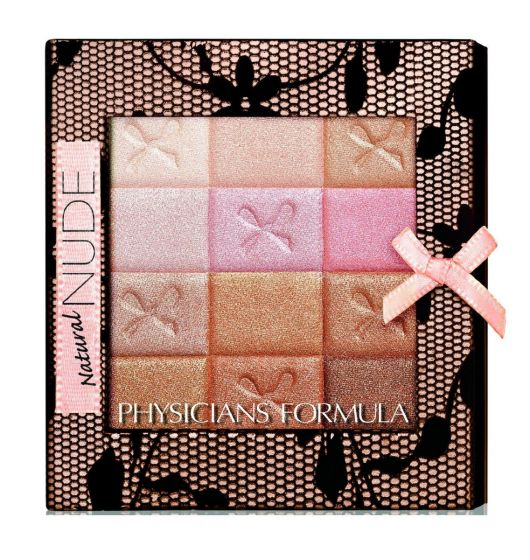 (3 Pack) PHYSICIANS FORMULA Shimmer Strips All-in-1 Custom Nude Palette for Face & Eyes - Natural Nude