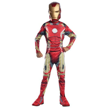 Morris Costume RU610436LG Iron Man Mark 43 Child Costume, Large](Iron Man Costum)