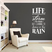 Sweetums Learning To Dance in The Rain 30 x 60 Wall Decal