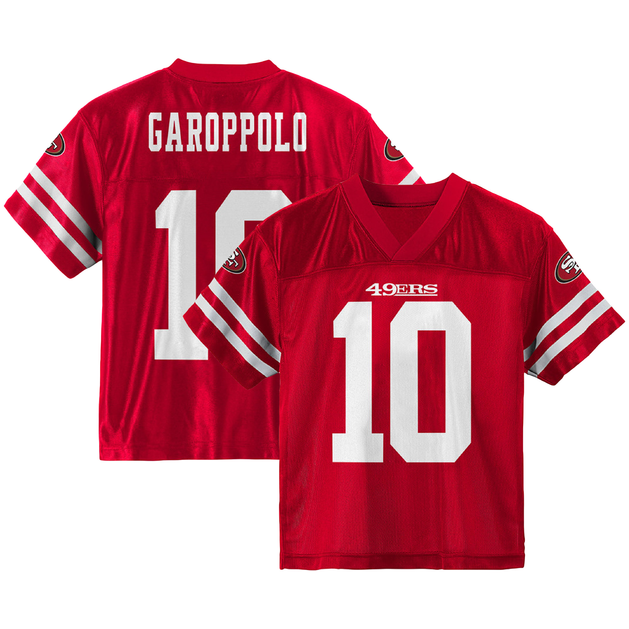 outlet store 19333 d1193 Youth Jimmy Garoppolo Scarlet San Francisco 49ers Team Color Jersey