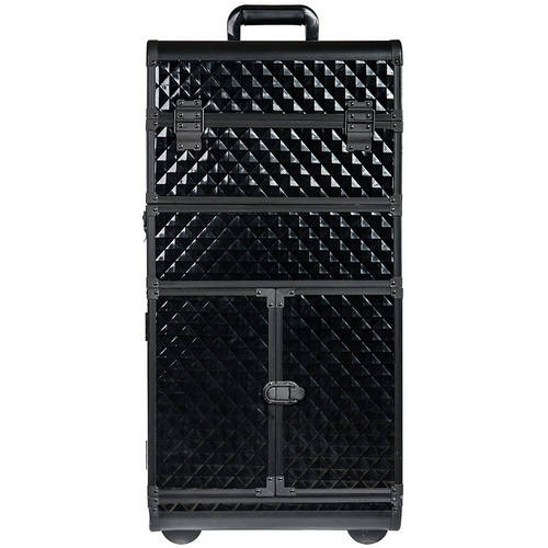SHANY Rebel Series Pro Makeup Artists Rolling Trolley Case