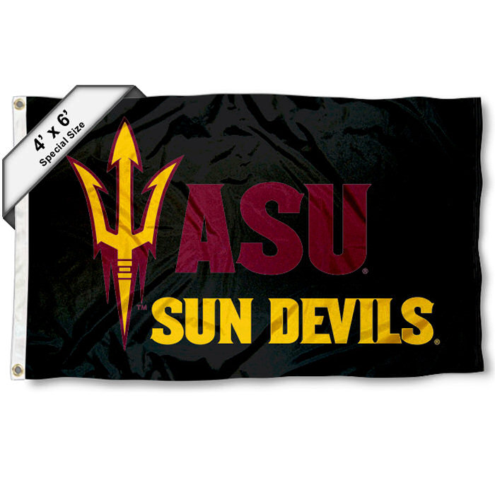Arizona State Sun Devils 4' x 6' NCAA Flag