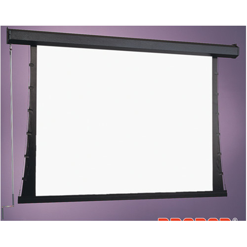 Draper Premier Series C White Manual Projection Screen