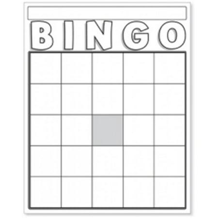 Moderne Hygloss Products HYG87130 Blank Bingo Cards, White | Walmart PW-48