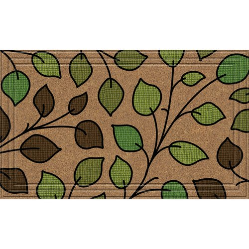 BuyMATS Inc. Naturelles Summer Leaves Doormat