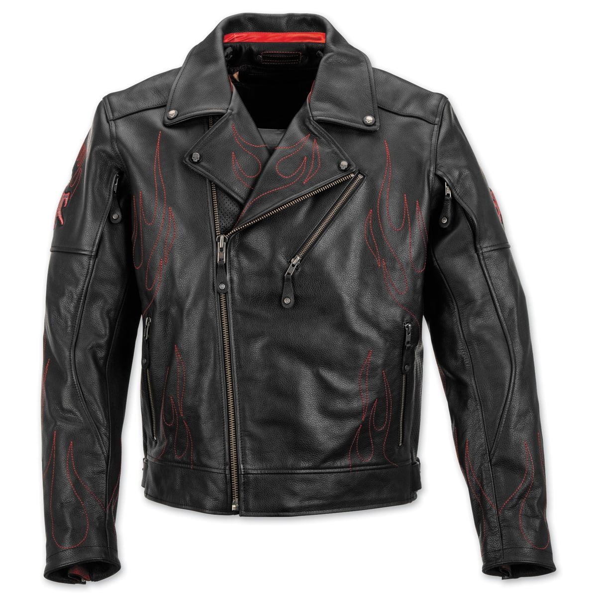 Black Brand Men's  Men's Spontaneous Human Combustion Leather Jacket