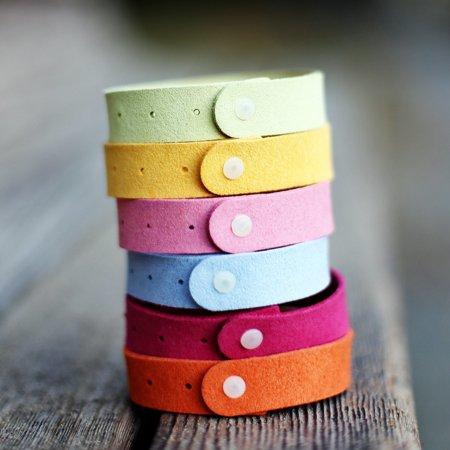 Mosquito Repellent Wristband, Mosquito Bands Non-Toxic Travel Insect Repellent Bracelets Keeps Insects & Bugs Away 6 Packs Buzz Away Insect Repellant