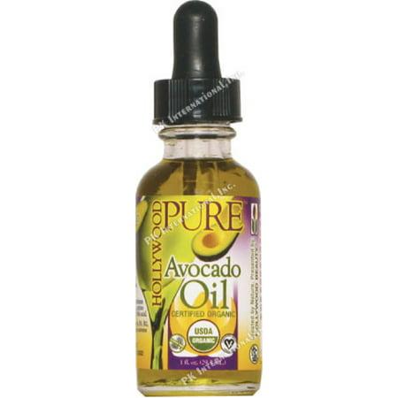 Beauty Oil Avocado - Hollywood Beauty Pure Avocado Oil 1 oz