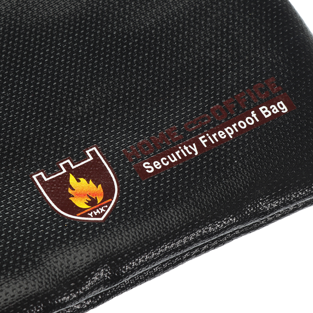 Fireproof Fire Resistant Document Bag Envelope Pouch For Passport Money File CA