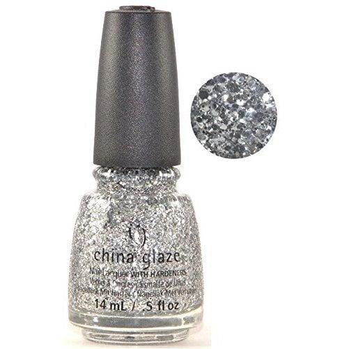 China Glaze Nail Polish-Silver Of Sorts 82699