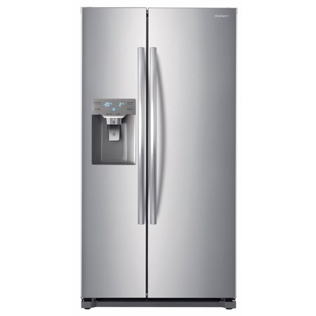 Daewoo FRS-Y22D2T 20 Cu. Ft. Side Mounted Refrigerator | Stainless Steel