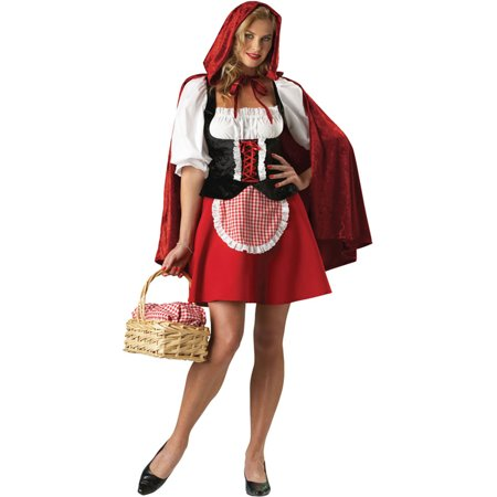Morris Costumes Womens Red Riding Hood Adult X-Large Halloween Costume - Red Riding Hood Diy Halloween Costume
