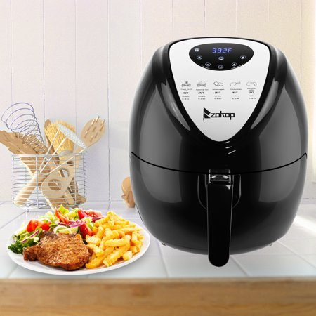 Zokop Electric Air Fryer With Digital Touch Screen Oil