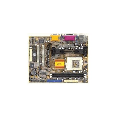 Refurbished-PC Chips M756LMRT+Socket 370 and slot 1 micro ATX motherboard. 2 PCI and 2 SDRAM slots. On-Board audio, video and LAN. Motherboard only. No manual, cables or drivers. Also used in