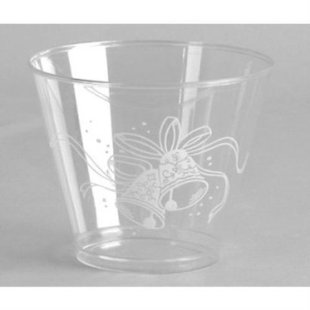 - Wedding Bells 9 oz Squat Glass