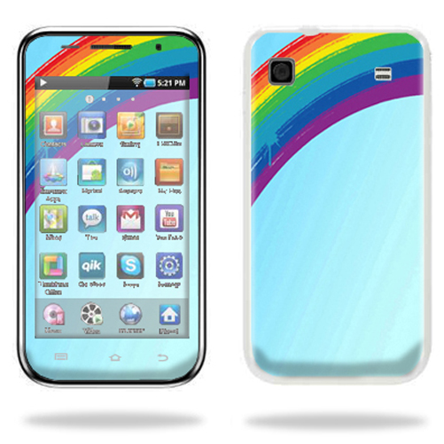 Mightyskins Protective Vinyl Skin Decal Cover for Samsung Galaxy Player 4.0 MP3 Player wrap sticker skins Rainbow
