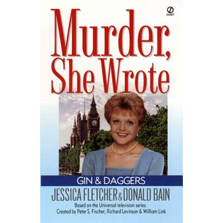Boodles Gin - Murder, She Wrote: Gin and Daggers - eBook