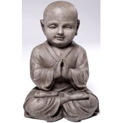 Alfresco Home Praying Buddha Garden Statue