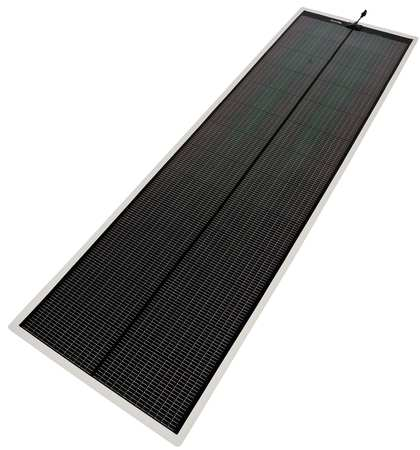 "86.05"" Peel-and Stick RV Solar Charger, Black ,Powerfilm, RV-15V-3900-KIT"