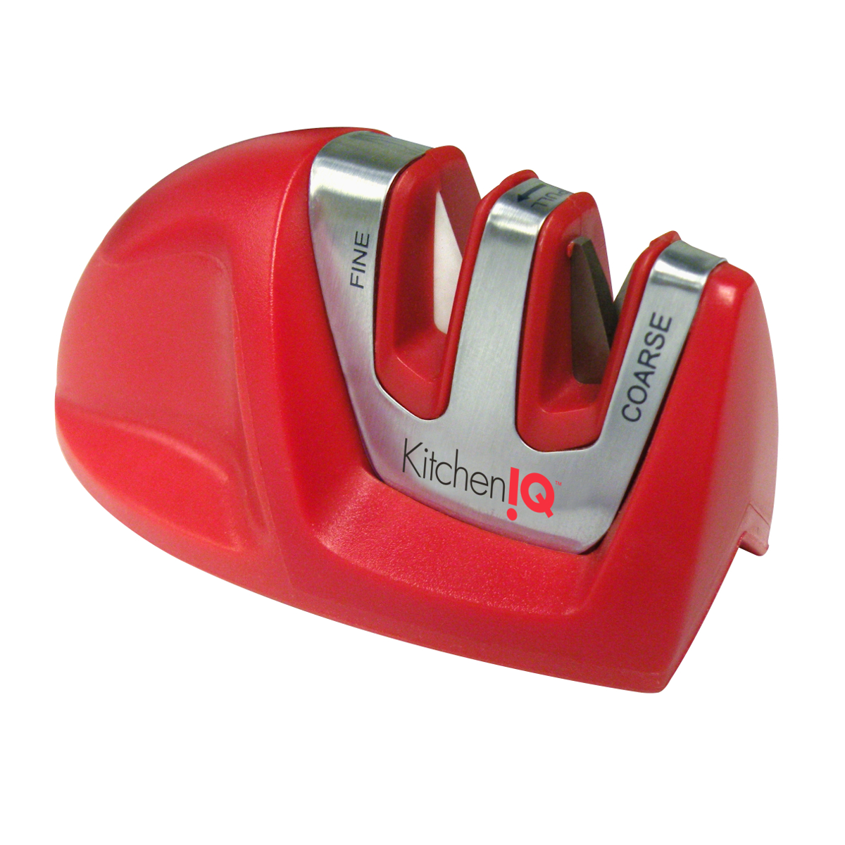 Smith's KitchenIQ Red Edge Grip 2 Stage Knife Sharpener
