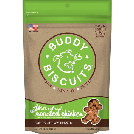Buddy Biscuits 12oz Soft and Chewy Chicken